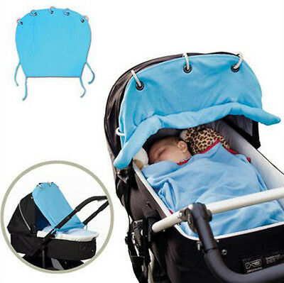Baby Carriage Sunshade Cloth Curtain For Stroller Pram Buggy Canopy Cover