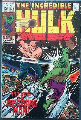 Incredible Hulk # 125, Early Appearance The Absorbing Man.