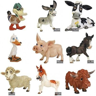 Arora Little Paws Farmyard Animal Collectable Figurines Ornaments Gift Boxed