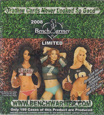 BenchWarmer Limited Hobby Box 2008 Sealed/ orig. pack.