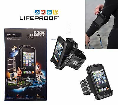 New Genuine Lifeproof Armband (Only)  for Lifeproof Apple iPhone 5/5s/SE Black