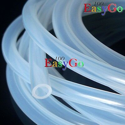 NEW 1M Silicone Nitro Glow Fuel Line Tube Pipe for RC Plane Car Parts 5.5x2.5mm