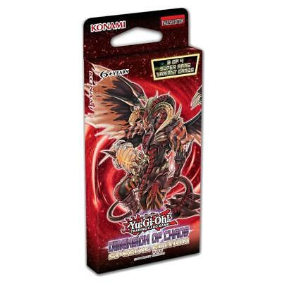 YU-GI-OH! TCG Dimension of Chaos Advance Special Edition Starter Pack