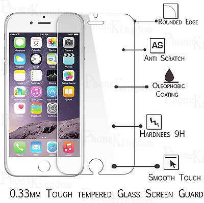 Genuine Gorilla Tempered Glass Screen Protector For New Apple iPhone 6S 4.7 inch