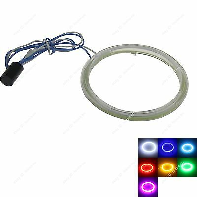 100MM Led Headlight COB LED Halo Ring Angel Eyes with Cover for Car Motorcycle
