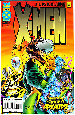 Marvel Comics ASTONISHING X-MEN 1995 #4 VF+ 1st Series Age of Apocalypse