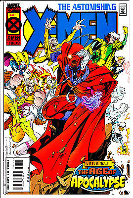 Marvel Comics ASTONISHING X-MEN 1995 #1 VF/NM 1st Series Age of Apocalypse