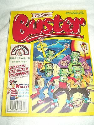 UK Comic Buster 31st October 1992