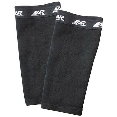 New A&R Hockey Referee Baseball Umpire Soccer Shin Sleeves No Tape Hold Guards