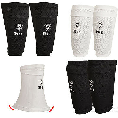 Hot Men's Soccer Shin Pads Holder Instep Foot Socks Guard Stays Lock Sleeves
