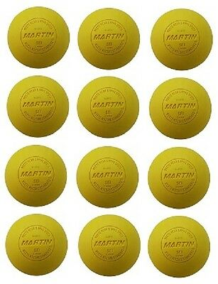 New Champion Dozen (12) Official Lacrosse Balls NFHS NCAA NOCSAE Approved Yellow