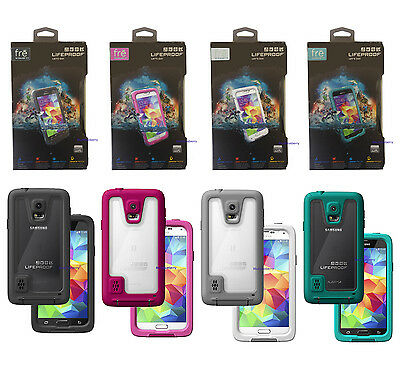 New! LifeProof Fre Series Waterproof Case for Samsung Galaxy S5