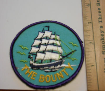 The Bounty Embroidered Souvenir Patch