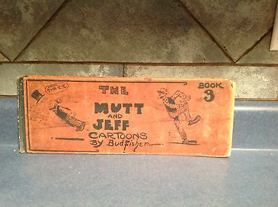1912 The MUTT and JEFF Cartoons By Bud Fisher Book No. 3 Free Shipping