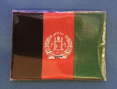 Afghanistan Flag Sew On Souvenir Collectable Jacket Military Patch Crest NIP
