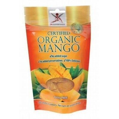 DR SUPERFOODS Dried Mango - Certified Organic 100g