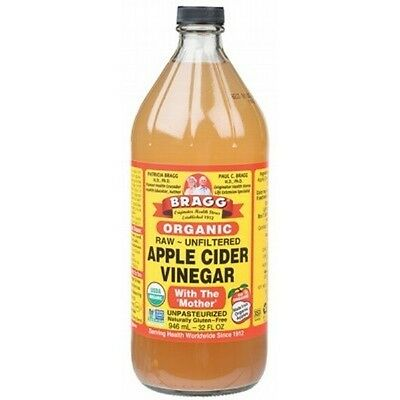 BRAGG Apple Cider Vinegar 946ml with The Mother, Raw & Unfiltered - IN STOCK
