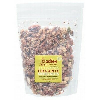 2DIE4 LIVE FOODS Activated Organic Mixed Nuts - 300g