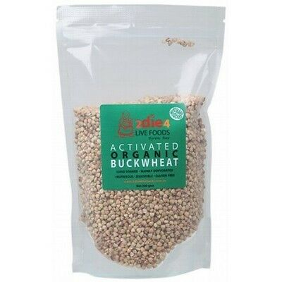 2DIE4 LIVE FOODS Activated Organic Buckwheat - 300g