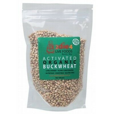 2DIE4 LIVE FOODS Activated Organic Buckwheat - 180g