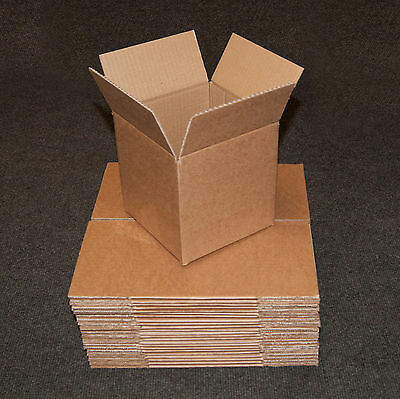 "New 6""x6""x6"" Single Wall Mailing Postal Packing Cardboard Boxes - Multi Listing"