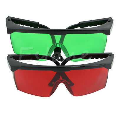 Eye Safety Glasses for Green Blue 190nm-540nm Laser Protection Goggles Red