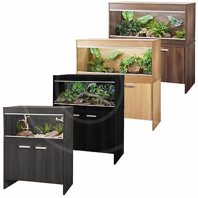 Vivexotic Repti-Home Maxi Vivariums Wooden Terrariums With Cabinet Reptile