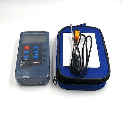 TM6801B Digital Thermometer High Accuracy Measuring High Temperature meter New