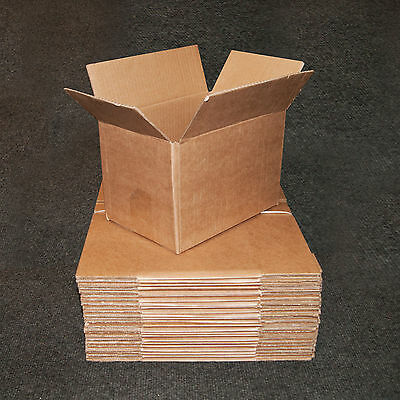 "9""x6""x6"" New SINGLE WALL Mailing Postal Packing Cardboard Boxes - Multi Listing"