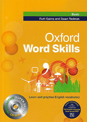 Oxford WORD SKILLS BASIC Book with CD-ROM by Ruth Gairns, Stuart Redman @NEW@