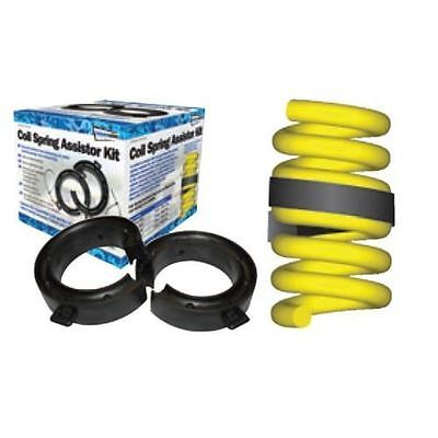 39-51mm Gap Car Suspension Coil Spring Assisters Spacers Towing Adapters Rubber