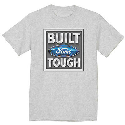 Built Ford Tough t-shirt ford mustang racing ford design tee shirt for men