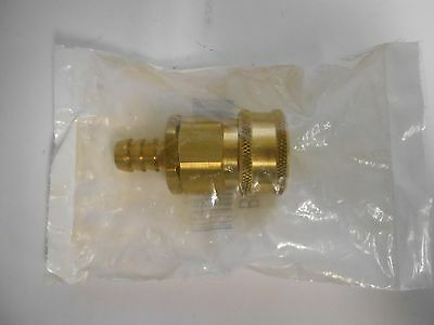 SNAP-TITE BRASS H-SHAPE Quick Disconnect Hose Coupling BVHN4