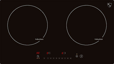 Double Burner Induction Ceramic Cooktop 220V INDH-3102Hx