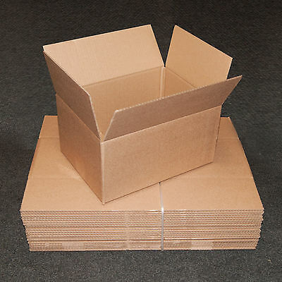 New 12x9x6 Single Wall Mailing Postal Packing Cardboard Boxes - Multi Listing