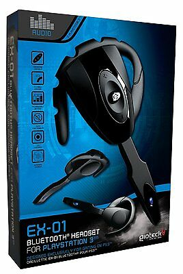Gioteck EX-01 Bluetooth Headset PS3 Playstation 3 Brand New Sealed Fast Dispatch