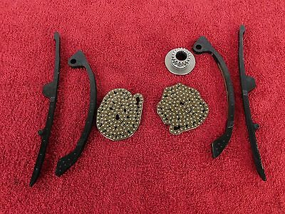 FRONT & REAR OEM CAM CHAIN SET w/GUIDES 05-09 SV650 SV 650 SV650S engine / motor