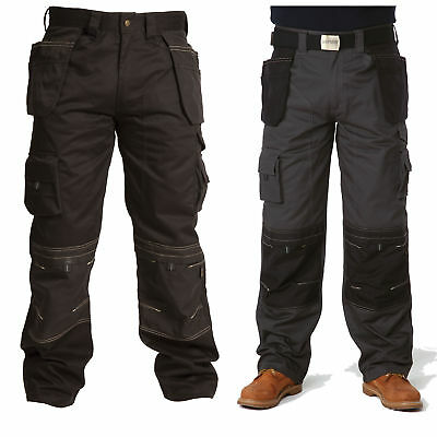 Apache Heavy Duty Work Trousers (Kneepad & Holster Pockets) - APKHT