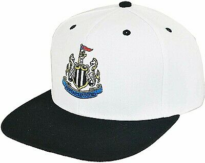 Newcastle United Fc New Embroidered Club Crest Black Adult Baseball Cap Nufc