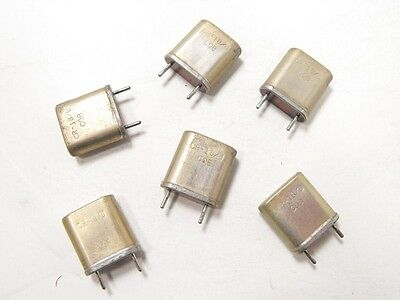(6) Collins KWS-1 Ham Radio Transmitter Complete Crystal Set - 6 xTals Total