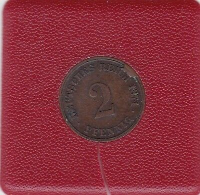 2 Pfennig 1874 C Deutsches Reich German Empire