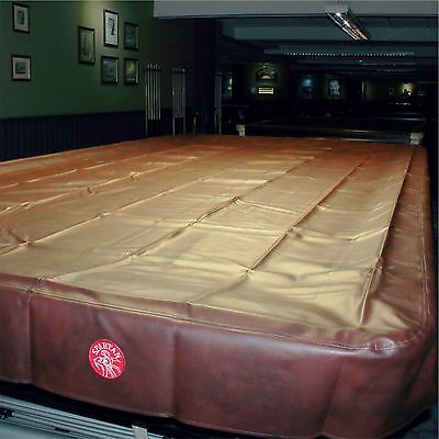 SPARTAN Heavy Duty Water Resistant Snooker Table Cover - 10FT BURGUNDY