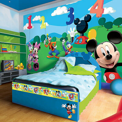 xxl poster fototapete tapete disney mickey mouse donald. Black Bedroom Furniture Sets. Home Design Ideas
