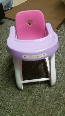 As New berenguer baby high chair no box