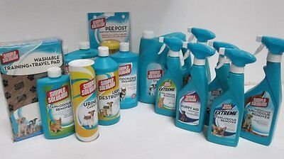 Simple Solution Stain and Odour Remover for Dogs Spray, Bottle, Powder