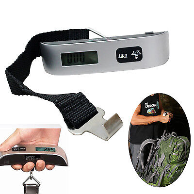 50kg Digital Luggage Scale Electronic Portable Weighing Weight Suitcase Travel