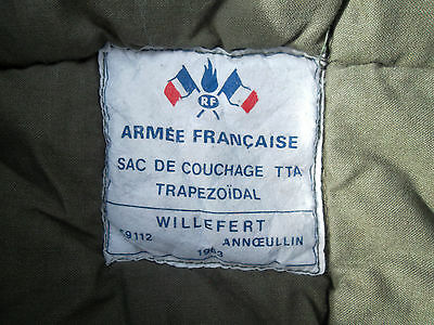 Sac de couchage armée  F1 sarcophage   Sleeping bag F1 army