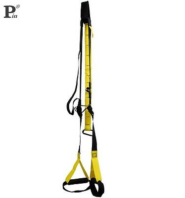 SUSPENSION TRAINER KIT FITNESS SANGLES formation Crossfit MMA musculation trx