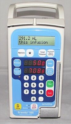 Graseby Smiths 500 Volumetric Iv Infusion Pump Veterinary Brewing