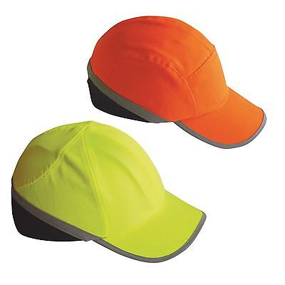 Portwest Hi Vis Protective Bump Cap Baseball Style Hard Hat Safety Workwear PW79